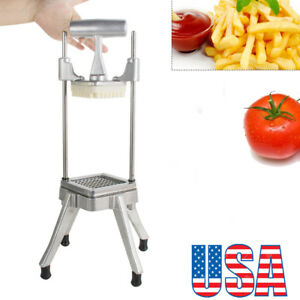 Stainless Steel Commercial Vegetable Fruit Dicer Tomato Slicer Chopper Home Fda
