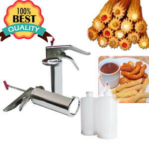 Manual Spanish Donuts Churrera Churros Filler Filling Machine Dessert Make A