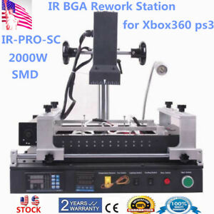 Upgrade Ir pro sc Bga Rework Station Reballing Station 2000w For Xbox360 Ps3 New