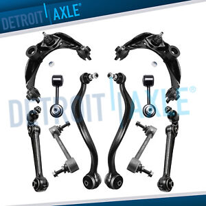 Fwd 10 12 Ford Fusion Milan For Front Upper Lower Control Arm Rear Sway Bar Kit