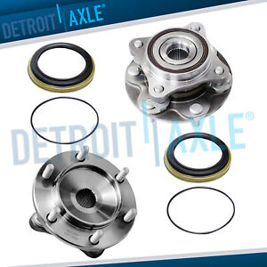2 New Front Wheel Bearing And Hub Assembly For 4wd 4runner Tacoma Fj Cruiser