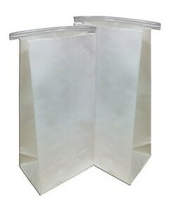 Dental Delivery Bags Heavy Duty Paper Bags 100pcs 11 X 5 5