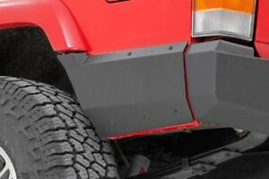 Rear Quarter Panel Armor 1997 2001 Jeep Cherokee Xj Fits Factory Flare Only