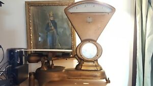 Antique Howe Scale Company Counter Scale Up To 5lbs And Accurate Beautiful