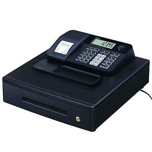 Casio Pcr t273 Electronic Cash Register With Thermal Printer Black