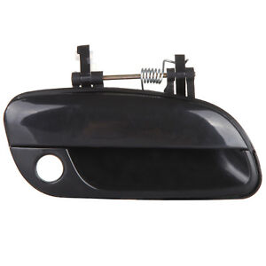 Exterior Outside Door Handle Front Right For Hyundai Elantra Black 2001 2005