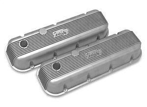 Holley 241 300 Bbc Holley Valve Covers Finned Non Emis