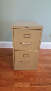 Filex 2 Drawer File Cabinet metal