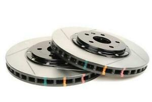 Dba 5000 Series Drilled Slotted 2 Piece Rotors W Blk Hats 10 Camaro Ss