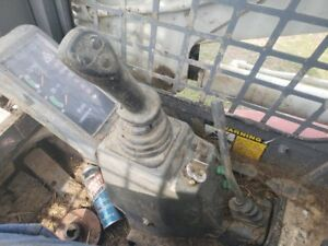Takeuchi Tl130 Skid Steer Right Joystick W valve 1901734000 Less Pedastal