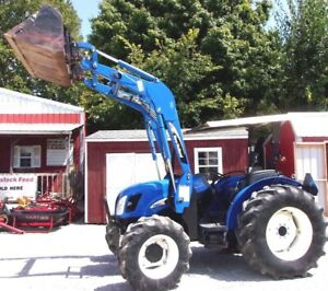 New Holland Tn 60a With Loader 4x4 delivery 1 85 Per Loaded Mile