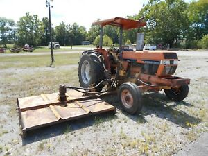 Case Ih 695 Tractor 72hp Diesel With Tiger Side Mower