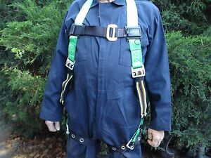 Miller Python Safety Harness Miller By Sperian Full Body Adjustable Harness