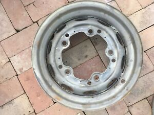 Porsche 356 Wheel 4 1 2 X 15 Kpz Date Stamped 7 59 Fl 16 Modified