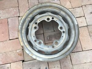 Porsche 356 Wheel 4 1 2 X 15 Kpz Date Stamped 3 57 Fl 18 Modified