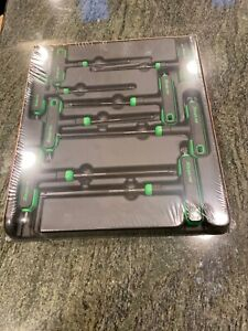 New Snap On Awsgt800 8 Pc Torx T and L Shape Wrench Set
