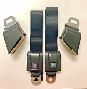 1968 72 Chevelle Malibu El Camino Ss Oe Style Retractable Front Seat Belt Set