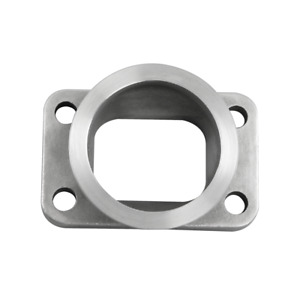 Cxracing T3 Turbo To 2 5 V band Stainless Steel Cast Flange Adapter Converter