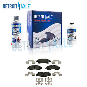 Rear Ceramic Brake Pads Kit Escalade Astro Silverado Sierra 1500 Yukon Safari