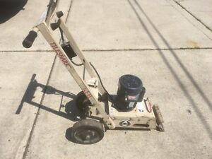 Used edco Tile Stripper Floor Removal scraper machine good Working Condition