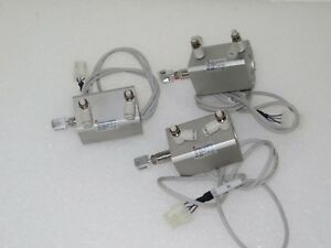Smc Pneumatic Cylinder Cdq2a20 uls390038 750 0023 08 lot Of 3
