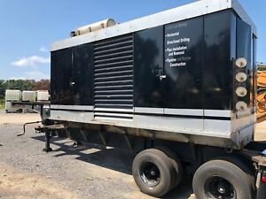 450 Kw Cummins Diesel Generator Trailer Mounted