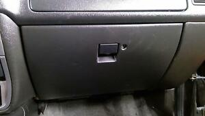 99 01 Isuzu Vehicross Glove Box Assembly black