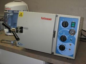 Tuttnauer 1730 Table top Valueklave Autoclave Used