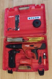 Hilti Dx 460 Complete Box Set Powder Actuated Gun W mx 72 Used tested a Con