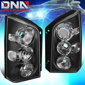 For 2005 2012 Nissan Pathfinder Pair Black Housing Altezza Tail Light Brake Lamp