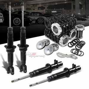 Dna For Civic Ej Em Gas Shocks Absorber Scale Adjustable Coilover Black Springs
