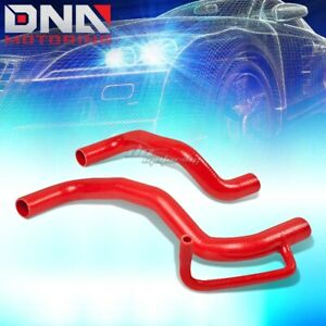 Red Radiator 3 Ply Silicone Hose Pipe Piping 08 11 Scion Xb T2b 1nz 2zr 2az Fe