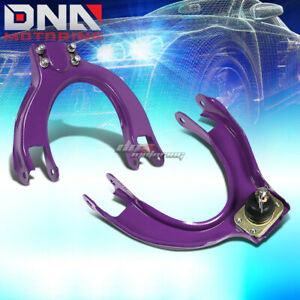 92 95 Civic Ek 94 01 Integra Purple Adjustable Front Suspension Camber Kits Arms