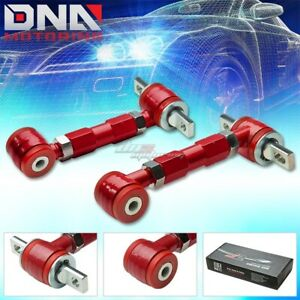 J2 Engineering For 88 01 Civic Ek Dc Red Performance Rear Suspension Camber Kit