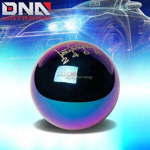 Nrg Anodized Ball Type Style Weighted 6 speed Gear Shifter Shift Knob Neo Chrome