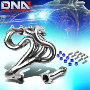 J2 For Civic D15 D16 Exhaust Manifold Drag Race Header Blue Washer Cup Bolt