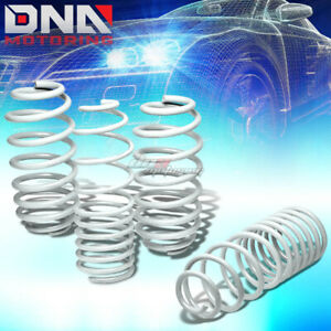 For 10 13 Jdm Nissan March Micra Coil Suspension White Racing Lowering Springs