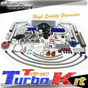 Dsm 1g 2g Eclipse Talon T3 350 Hps Boost Manifold Cooler Full Turbo Charger Kit