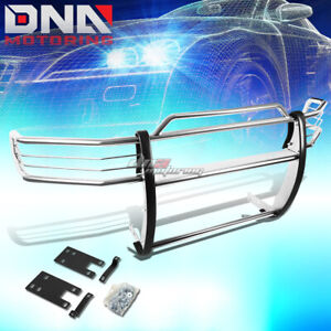 For 99 01 Dodge Ram 1500 Sport Chrome Stainless Steel Front Grill Guard Frame