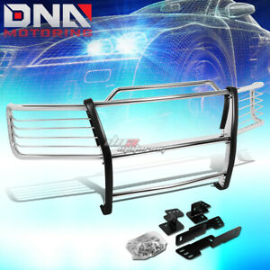 For 00 06 Chevy Tahoe suburban Chrome Stainless Steel Front Grill Guard Frame