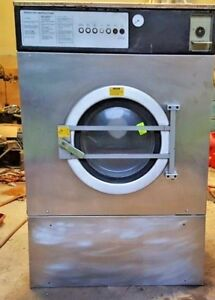Wascomat Exsm 230s Washer Industrial 65lb Extraction 690rpm 220 G force