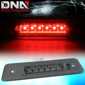 For 2008 2012 Jeep Liberty Led Third 3rd Tail Brake Light Rear Stop Lamp Smoked
