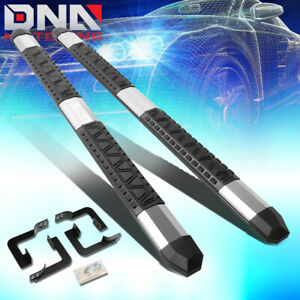 For 2005 2018 Nissan Frontier Crew Cab Light Weight 5 Aluminum Nerf Step Bars