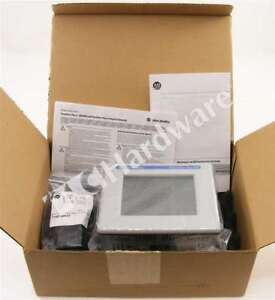 New Allen Bradley 2711p t6c20d8 a Panelview Plus 6 600 6 in Color Touch Std Dc