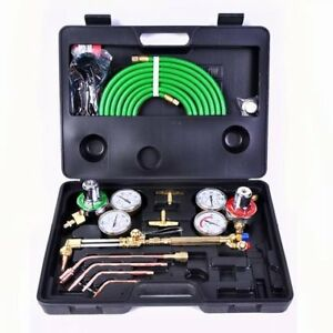Toolsempire Gas Welding Cutting Kit Oxygen Torch Acetylene Welder Victor Tool