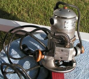 Vintage Stanley Electric Router Ga 170 a Base With M1 a