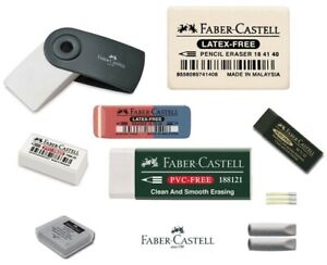 Faber Castell Artist Dust Free Kneaded Putty Sleeve Pencil Ink Rubber Eraser