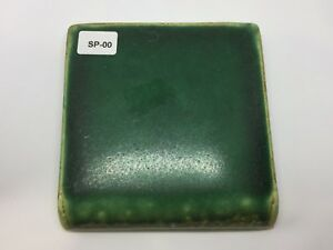 Sp 00 Forest Green Vintage 4x4 Bullnose Antique Fireplace Mantle Tile