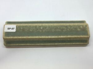 Sp 07 Sage Green Vintage 1 7 8 X 6 Antique Fireplace 3d Mantle Tile Trim