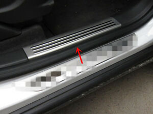 Steel Door Sill Scuff Plate Guard For Opel Vauxhall Mokka buick Encore 2013 2018